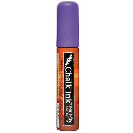 Chalk Ink Bold Wet Wipe Marker Chalk White 15 mm