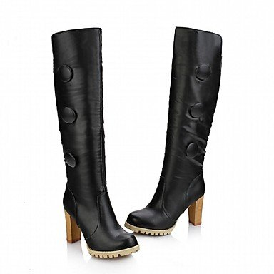 Platform Evening Dress Winter Novelty Career UK2 EU34 Spring Fall Boots US3 Wedding Casual Office RTRY amp;Amp; Leather Leatherette Little Women'S Kids amp;Amp; Party Patent Comfort qZxHIpZXw