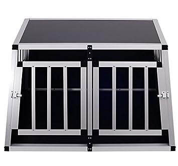 Homcom Cage de transport pour chien en aluminium xl noir 89 x69x50 ... 3ca870ede56e