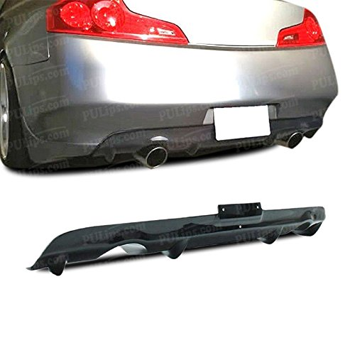 06 Infiniti G35 Coupe (PULIps IFG35203GLRAD - GL Style Rear Bumper Diffuser Lip For Infiniti G35 Coupe 2003-2007)