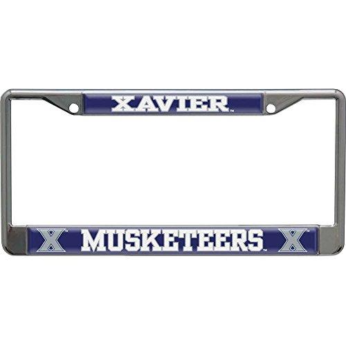 WinCraft Xavier University S26850 LIC PLT Frame S/L Domed (Xavier Plate License)