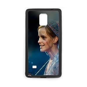 Samsung Galaxy Note 4 Cell Phone Case Black_Emma Watson In Rain Girl Film Face Issuz