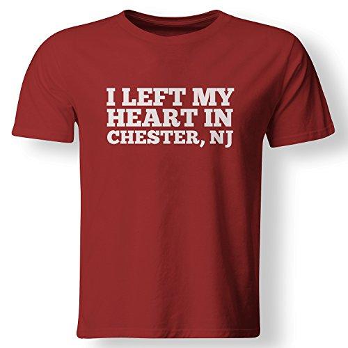 I Left My Heart in Chester, NJ Love Native T Shirt (Nj Shops Chester)