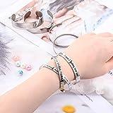 18 Pieces Bracelet Blanks Stainless Steel Blank