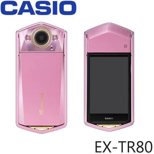 CASIO EX-TR80 TR750[大人気自撮り神機と言われる一台] (Pink ピンク)