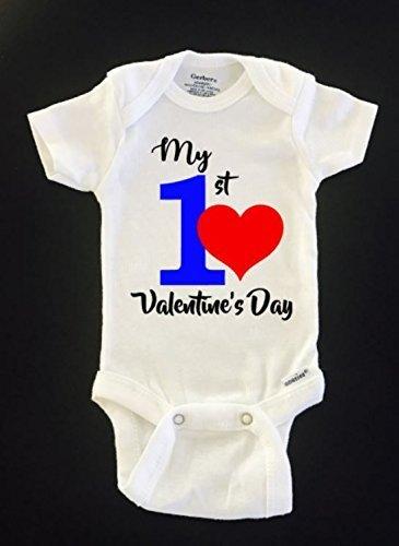 Amazon Com My First Valentine S Day Onesie New Baby Onesie