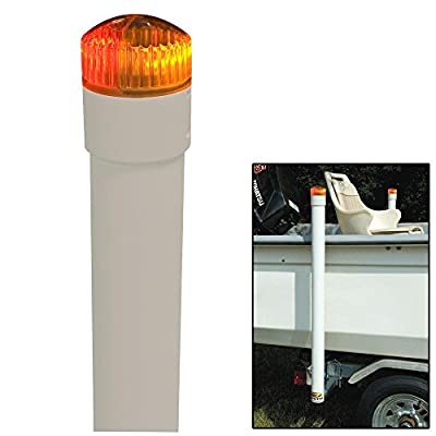 CE Smith Trailer Post Guide-On with LED Lighted Posts