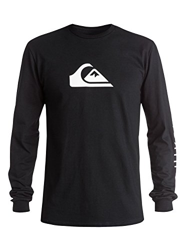 Quiksilver Men's Everyday MW Long Sleeve T-Shirt, Black, Medium