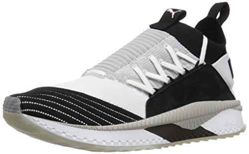 PUMA Men Tsugi Jun Cubism Sneaker Puma White-puma Black Gray Violet