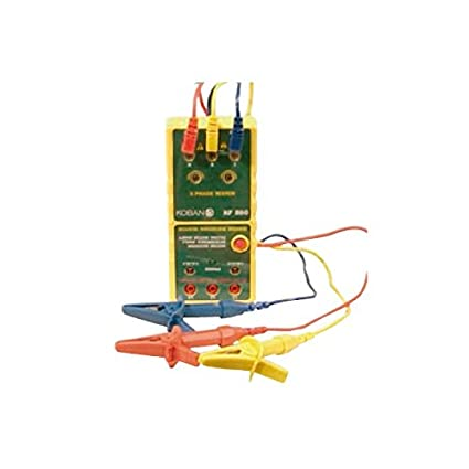 KF860 Indicador de secuencia de fases