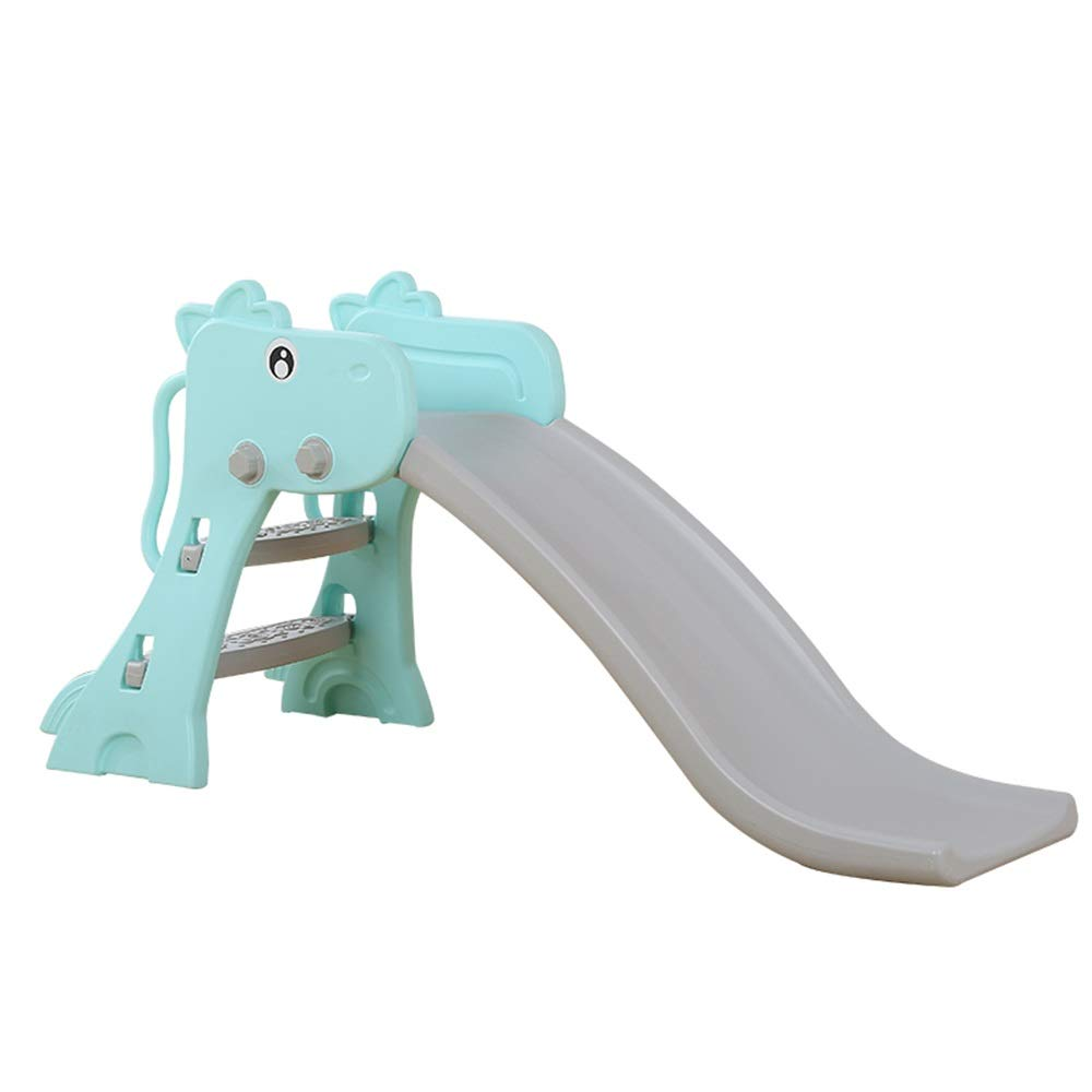 Xyanzi 子どもおもちゃ 赤ん坊のプラスチックおもちゃのスライド、子供の屋内小さい厚いプラスチックスライドの折り畳み式の幼児のスライドの赤ん坊の上昇者 B07RPY2RY7