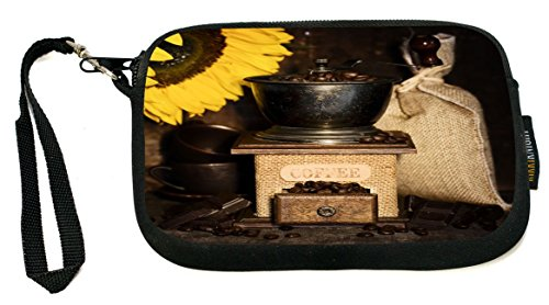 Rikki Knight UKBK Smartphone Bag – Still Life With Antique Coffee Grinder & Sunflower for Universal Phones