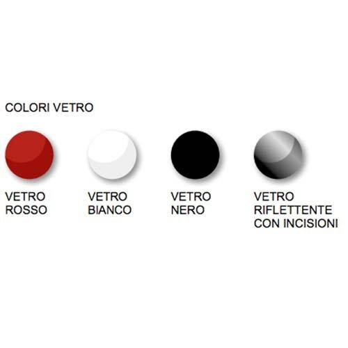 Eva Calor - Estufa de pellets Erika, diseño slim, 11 Kw, vidrio rojo: Amazon.es: Hogar