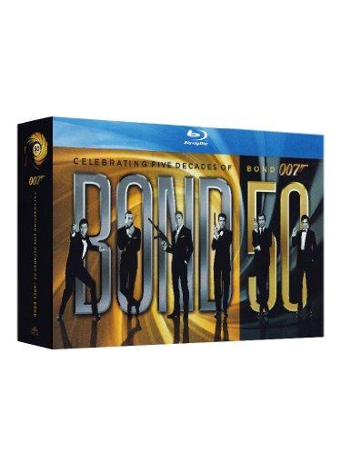 Bond 50 (23 Blu-Ray) [Italia] [Blu-ray]: Amazon.es: Topol, Maud Adams, Mathieu Amalric, Ursula Andress, Pedro Armendariz, David Arnold, Claudine Auger, ...