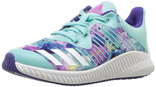Price comparison product image adidas Performance Girls' Fortarun K,ENERGY AQUA/WHITE/ENERGY INK,11 Medium US Little Kid