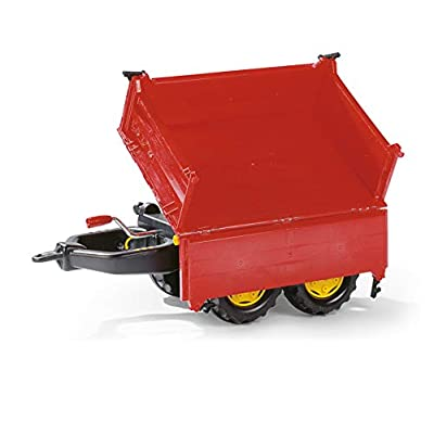 Rolly Toys Mega Trailer, Red: Toys & Games