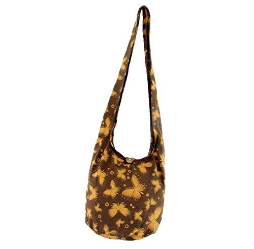Butterfly Sling Bag Hippie Shoulder Crossbody - Sling Butterflies Bag
