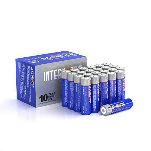 Internova Ultra Alkaline AA Batteries, Double A LR6 1.5V Cell High Performance, 24 Pack