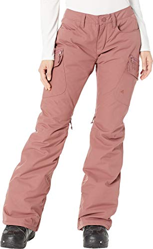 (Burton Women's Gloria Pant Insulated Snowboarding Pant, Rose Brown,)