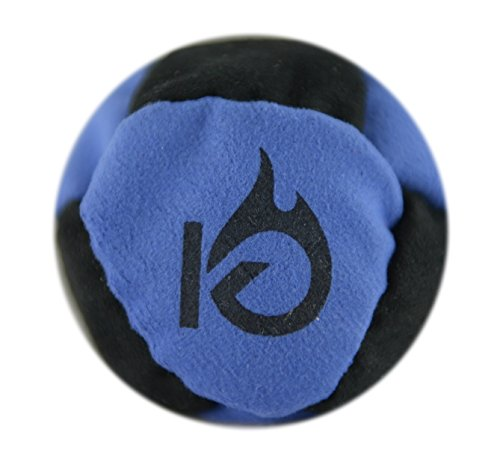 kickfire-classics-hotsacks-sand-filled-hacky-sack-8-panel-leather-footbag-with-video-start-tips-blue