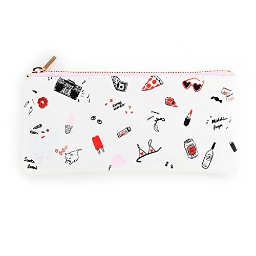 ban.do design Get It Together Pencil Pouch - Girls Just Wanna Have Fun - Ban Kids