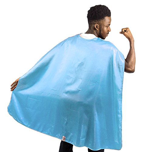 Everfan Men's Polyester Satin Superhero Cape (38