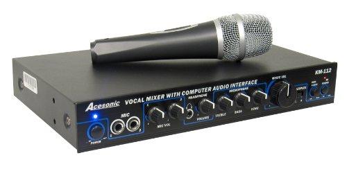 Acesonic KM-112 Karaoke Mixer (Ace Mixer)