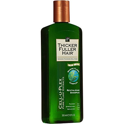 Thicker Fuller Hair Shampoo Revitalize 12oz. (2 Pack)