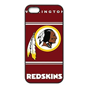 NFL Washington Redskins Black Phone Case for iPhone 5S