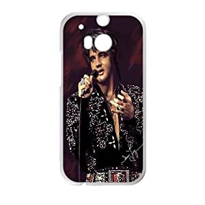 HTC One M8 Cell Phone Case White Elvis Presley 001 HIV6755169501588
