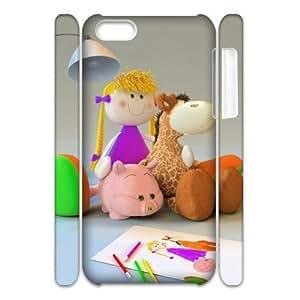 3D Toy friendship iPhone 5C Case White Kimberly Kurzendoerfer