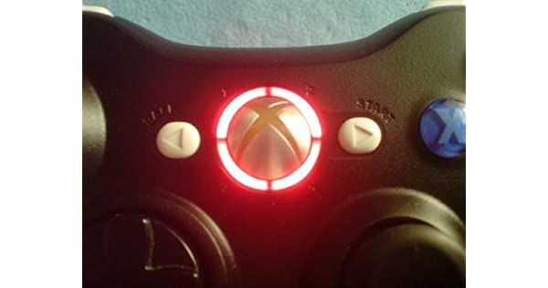 Amazon xbox 360 controller led mod ring of light leds red amazon xbox 360 controller led mod ring of light leds red video games solutioingenieria Image collections