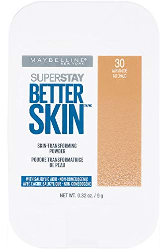 Maybelline New York Super Stay Better Skin Powder, Warm Nude, 0.32 oz.