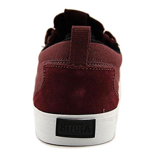 Burgundy Flow Shoes white Supra Skate Mens qBwZCIHxAI