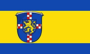 magFlags Large Flag District of Limburg-Weilburg; Germany   landscape flag   1.35m²   14.5sqft   90x150cm   3x5ft - 100% Made in Germany - long lasting outdoor flag