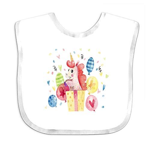 Feeder Bib Balloon Baby Girl Bandana Drool Bibs for Drooling and Teething