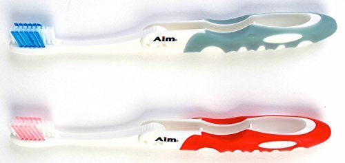 Dr. Fresh Aim Premium Travel Toothbrush, Set of 2, 3-Pack by DDI