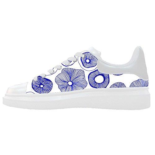Custom Women's Shoes Mushroom New Sneaker Canvas Thick Bottom