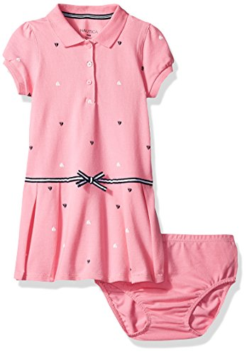 nautica-baby-girls-printed-pique-dress-with-pleated-skirt-and-stripe-bow-light-pink-0-3-months