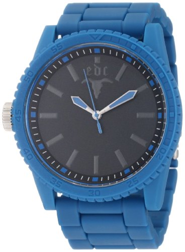 edc by esprit Men's EE100291008 Military Star Horizon Blue Watch