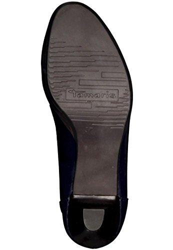 Plataforma Tamaris Bombas Azul Patente 1-22418-26 826 Navy Navy Patent