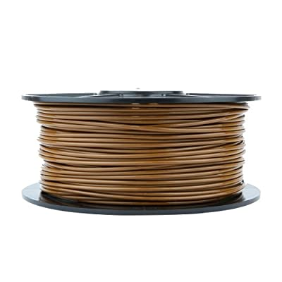 WYZworks 3d Printer Filament 3mm ABS Brown 1kg/2.2lb Reprap Markerbot