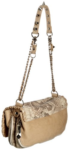 Sam Edelman - Chantal Pouchette, borsa donna, color Grigio (python Naturelle), talla One Size