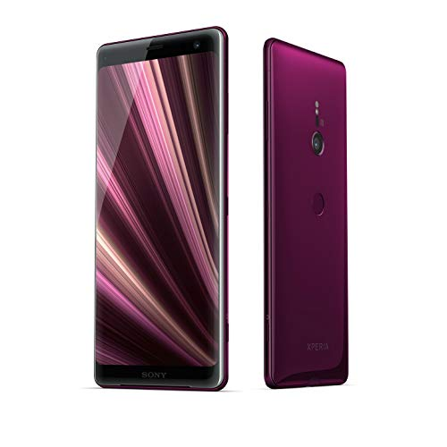 Xperia XZ3 (H9493) 6GB / 64GB (Bordeaux Red) 6.0-inches LTE Dual SIM Factory Unlocked - International Stock No Warranty