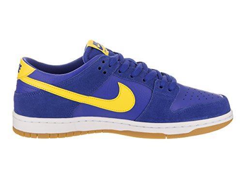 Nike Dunk Low Pro Iw, Scarpe da Skateboard Uomo Varsity Royal/Lightning/White