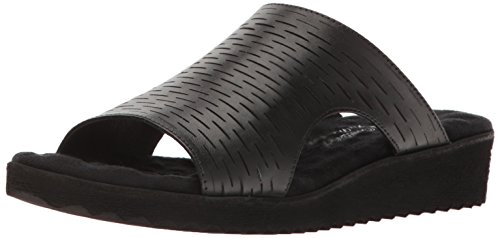 Flat Sandal Walking Hartford Women Cradles Black qxw4tOf