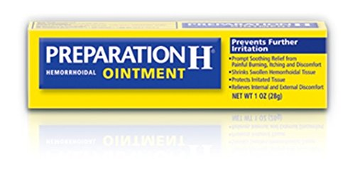 Preparation H Ointment, 1 oz Per Tube (5 Tubes) by Preparation H