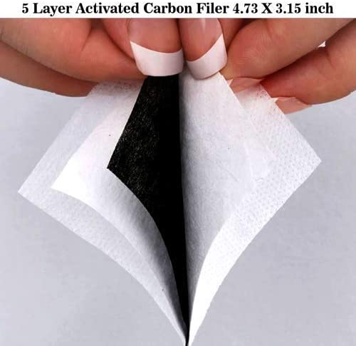 Gooeyokoi Mundschutz Gesichtsschutz Bunte Qualle Waschbar Atmungsaktive Staubdicht Schutz Bandana Schal mit Filter