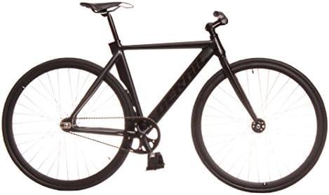 Kamikaze Bicicleta Fixie Aluminio derail rd30 M 52 Negra: Amazon ...