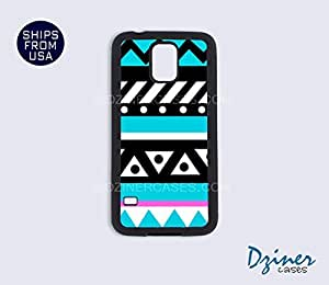 Galaxy S3 Case - Pink Turquoise Aztec Tribal